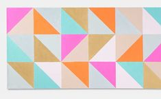 DIY Geometric Canvas with Martha Stewart Crafts. This beautiful canvas will make a striking statement in your room decor. Diy Dorm Decor, Diy Wall Decor, Dorm Decorations, Room Decor, Martha Stewart Paint, Martha Stewart Crafts, Diy Wall Art, Diy Art, Canvas Wall Art