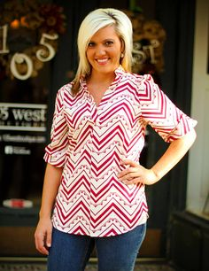 """Brandi"" Top.  S, M, L.  $37.50.  Available at 105 West Boutique in Abbeville, SC.  (864) 366-WEST.  $5 shipping."