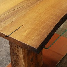Couchtisch Aus Holz Unikat Wohnzimmer Esszimmer Einrichten Wohnideen