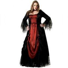 Gothic Vampira Plus Size Costume - womensplussizecostumes.org