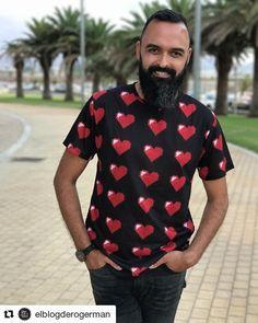 #Repost @elblogderogerman (@get_repost)  Este es el look que Germán ha elegido para @grancanariamc  Camiseta de corazones de @chelaclo  #grancanariasfw #grancanariamc #blog #fashion #fashionmen #fashionblogger #blogmasculino #lifestyle #blogger #igerslaspalmas #instablogger #fashionista #style #outfit #menswear #malefashion #blogmen #tendencias #instagram #instagramer #influencer #canarias #modamasculina #mensfashion #elblogderogerman #canaryislands #grancanariasfw #grancanariamc #summer