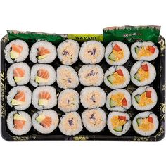 Wholesale retail fresh Japanese sushi boxes bento packs wraps |... ❤ liked on Polyvore featuring food, fillers, food and drink, accessories and food & drink