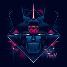 1990s-Themed Stylized Artwork Based on the Faces of Sci-Fi Characters From TV…