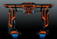 Tron Uprising - Recognizer design | Designer: Daniel Simon