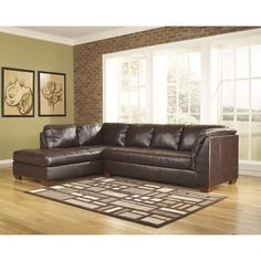 869$ right facing real leather seatingFREE SHIPPING! Shop Wayfair for Signature Design by Ashley Kinston Sectional - Great Deals on all Furniture products with the best selection to choose from!