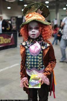 Disfraz para bebé en Halloween - Sombrerero Loco