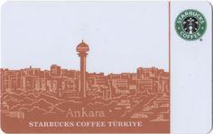 Starbucks card - Ankara, Turkey