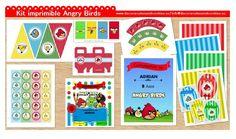 Da un toque especial a tu fiesta con este kit de decoración de Angry Birds aquí te ofrecemos ideas y sugerencias para inspirarte a dar una fiesta MUY divertida!!