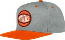 Knicks Neon Snapback Hat [Orange]