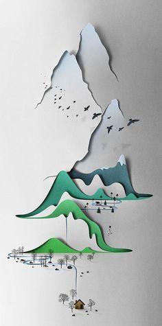 Eiko Ojala - Paper landscapes