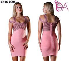 Ladies Sexy Bandage Bodycon Evening Cocktail Party Prom Dress XS XXL US | eBay