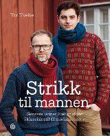 Strikk til mannen av Tor Tveite (Innbundet) Knitwear, Author, Mens Fashion, Knitting, Crochet, Sweaters, Education, Handmade, Knit Patterns
