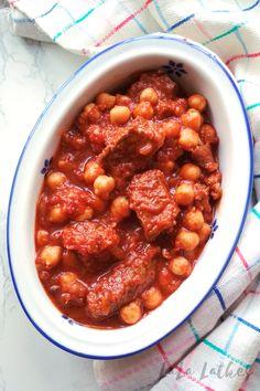 Говядина с нутом в томатном соусе Chana Masala, Ethnic Recipes, Food, Essen, Meals, Yemek, Eten