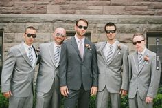 gray groomsmen looks | CHECK OUT MORE IDEAS AT WEDDINGPINS.NET | #bridesmaids