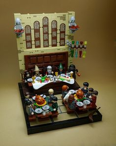 27 amazing LEGO vignettes bring Harry Potter to life Images Harry Potter, Theme Harry Potter, Cake Lego, Minifigures Lego, Lego Hogwarts, Construction Lego, Anniversaire Harry Potter, Amazing Lego Creations, Lego Castle