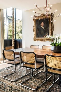 Dining Room Design, Dining Room Chairs, Dining Room Furniture, Furniture Ideas, Furniture Makeover, Dining Rooms, Antique Furniture, Furniture Design, Decoration Inspiration