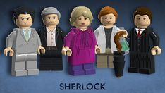 It could also include Moriarty, Lestrade, Mrs Hudson, Molly and Mycroft as part of an expansion pack.