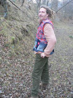 patchwork waistcoat for men от freaksbazar на Etsy