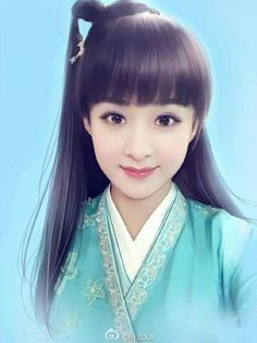 Painting Of Girl, Pictures To Paint, Chinese Art, Female Characters, Asian Art, Art Forms, Female Art, Graphic Illustration, Art Girl