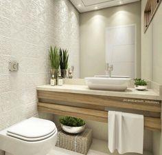 Small bathrooms decoration type SPA - Decoration and Fashion Grey Bathrooms, Beautiful Bathrooms, Modern Bathroom, Spa Bathrooms, Family Bathroom, Laundry In Bathroom, Cozy Bathroom, Bad Inspiration, Bathroom Inspiration