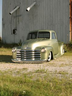1950 chevy panel trucks | 1950 Chevy Pickup Truck Front View