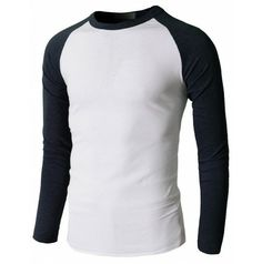 Long Sleeve Shirt With Different Coloured Sleeves | Artee Shirt