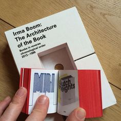 Irma Boom on CP: 'The Architecture of the Book' is available through Counter-Print.co.uk #counterprintbooks #irmaboom #architectureofthebook