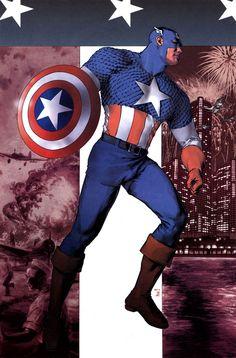 Captain America by Gene Ha