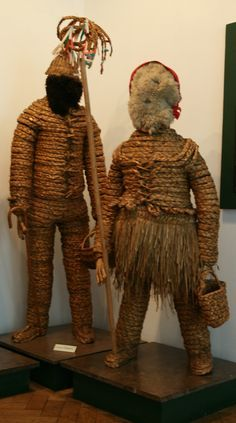 Straw boy costumes. Irish heritage.