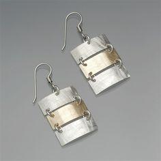 Vinosus Jewelry Ladder Dangle Earrings $96