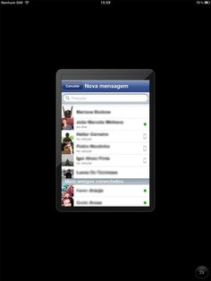 Como ativar o bate-papo do Facebook no iPad