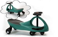 ProSource Premium Green Wiggle Scooter Car by ProSource Discounts, Inc.. $32.95. No batteries or electrical source required. Great combination of both fun and exercise. Perfectly safe and quality engineering. No pedals or gears. High quality ABS plastic construction and CE certified. This wiggle scooter has been enjoyed by children around the world for decades.  We are offering it to you for a low, low price.  Not only will our wiggle scooter bring your child ...