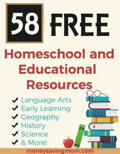 This is a weekly list of Free Homeschool Curriculum and Resources compiled by Carrie from HomeSchoolGiveaways.com. If you aren't a homeschooler, but you're a parent, teacher, babysitter, or nanny, you'll probably find at least a few useful freebies in this list. You may …