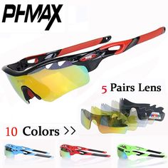 [Visit to Buy] PHMAX 2017 Polarized Oculos Ciclismo Cycling eyewear/Mountain Bike Goggles Bicycle Cycling Glasses/UV400 Cycling Sunglasses #Advertisement