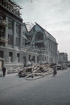 Rotterdam bombardement postkantoor