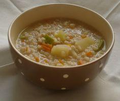 Le ricette perfette: Zuppa di orzo perlato