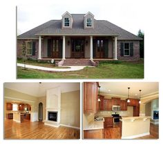 French Country Style House Plan 59937 with 3 Bed, 2 Bath, 2 Car Garage Country Style House Plans, French Country Style, Italian Home, Built In Cabinets, Home Design Plans, Dream Rooms, Next At Home, House Floor Plans, My Dream Home