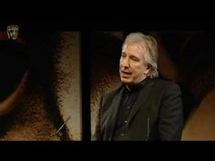 Alan Rickman at the BAFTA Tribute to Mark Shivas on March 8, 2009- So beautifully done by Alan! The last poem by James Fenton is quite moving.