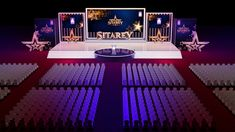 Prism Sitary on Behance Tv Set Design, Stage Set Design, Event Design, Formal Party Themes, Wedding Painting, Dramatic Arts, Backdrop Design, Church Design, Yacht Design