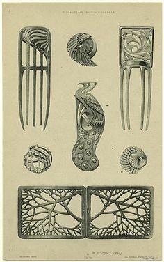 Image result for art nouveau elements