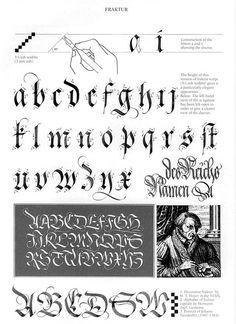 claude-mediavilla-calligraphie-fraktur: