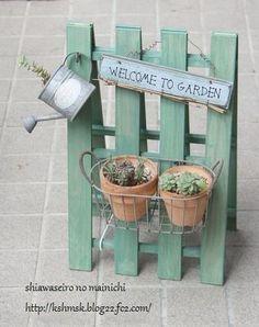 11 Erfrischende Ideen für Blumen und Pflanzen - Seite 2 von 12 - DIY Bastelideen