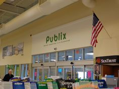 Things I miss while living in California... Publix