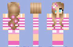 girl minecraft skins images | Summer Girl Skin for Minecraft