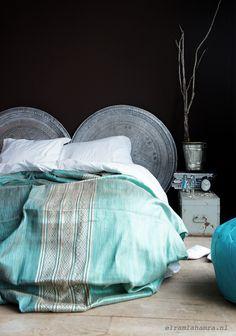 Tissus et tête de lit
