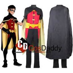Young Justice Robin Costume - Bing images