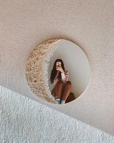 Este espejo de luna será el complemento perfecto para tus selfies en casa