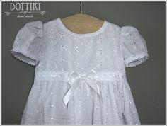 Baby Girl Christening Dress Christening Gown Baptism by DOTTIKI
