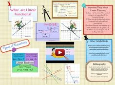 #Glogster #Math #Linear