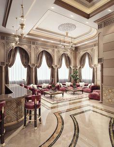 Men Majlis & Dining Room & Kitchen